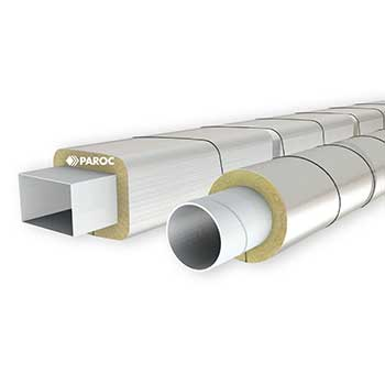Thermal insulated ventilation ducts